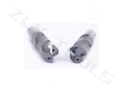 Solid carbide 2 flute drill for stainless steel - drill depth 3X twist drill with internal coolant