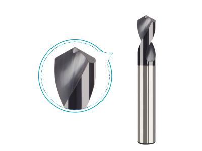 Carbide NC Spotting Drills TiAlN coated