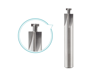 10mm slot milling cutter for plastic 4 flutes carbide T-slot cutter uncoated straight flute milling tools