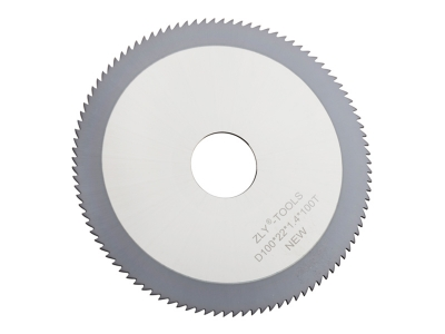 Coated carbide slitting saws for stainless steel cutting metalwork circular saw blades 100 Tooth